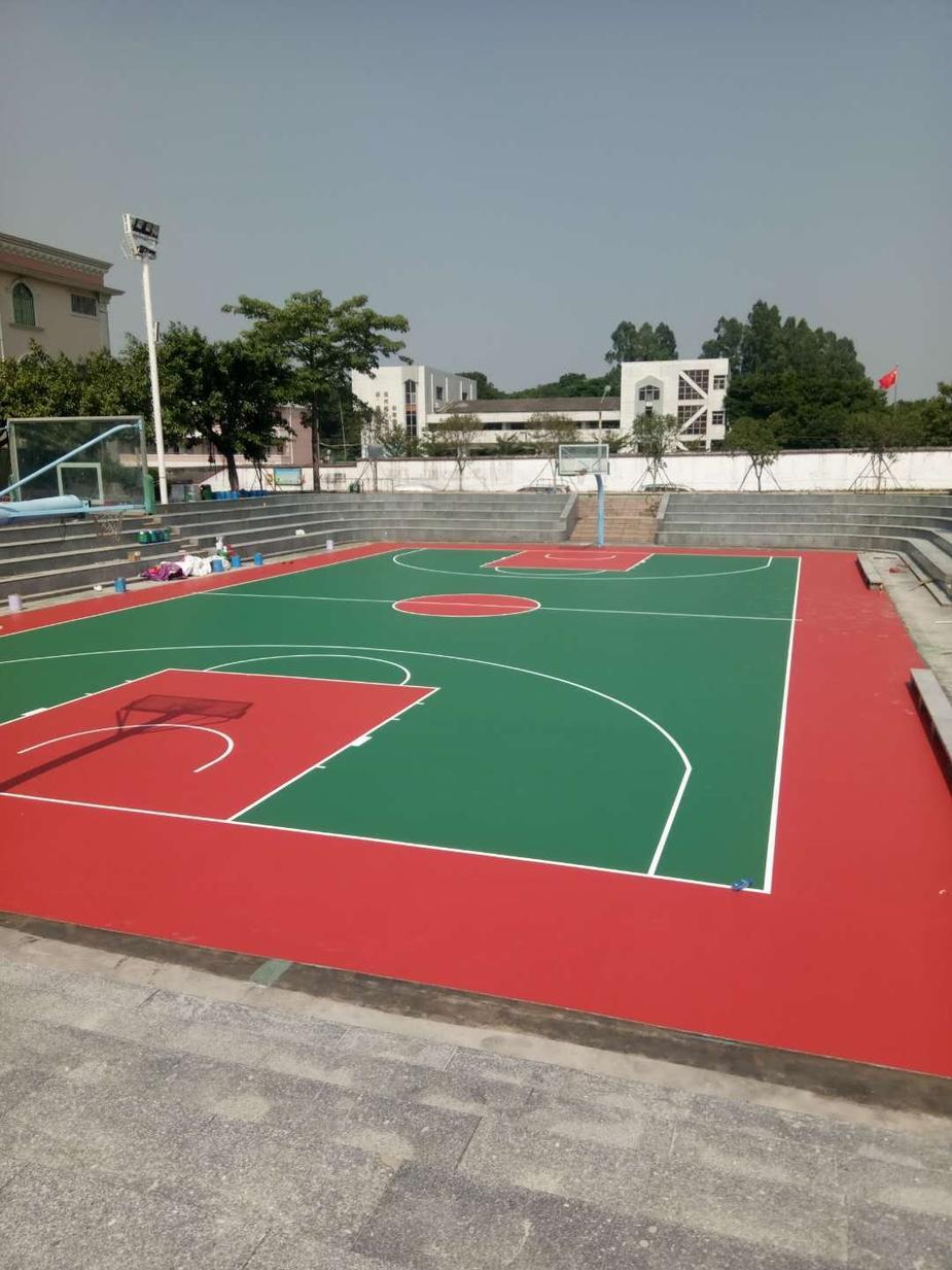 中山市沙溪鎮硅pu籃球場